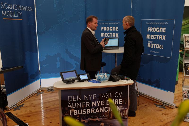 Frogne udstillede igen i år på Danske Busvognmænds Årsmøde, der afholdtes den 16-17. marts 2018 ved Hotel LEGOLAND i Billund.