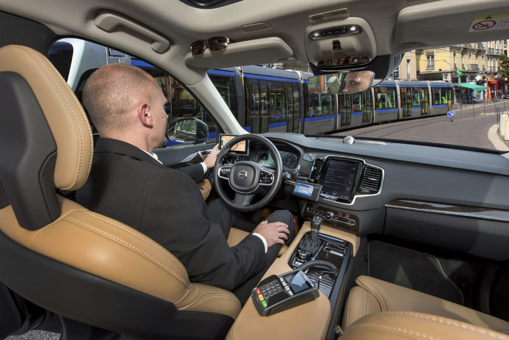 Frogne ställer ut de senaste taxameterlösningarna för taxibranschen på Persontrafik 2018.