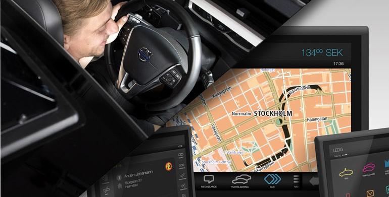 Frogne och MegTax visar de senaste taxameterlösningarna för taxibranschen på världens största fackmässa för taxi, Europäische Taximesse i Köln.